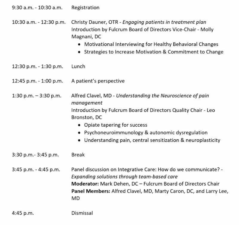 Symposium & Annual Meeting Agenda